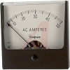 Ammeter, 0-50ACA, + 2%; 2-1/2 in.; 2%; 2.17 in.; 0.140 in.; -20 to degC -- 70209373