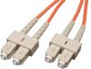 Duplex Multimode 62.5/125 Fiber Patch Cable (SC/SC), 100M (328-ft.) -- N306-100M