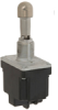 MICRO SWITCH NT Series Toggle Switch, 2 pole, 2 position, Quick Connect terminal, Locking Lever -- 2NT91-3D