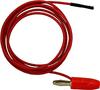 Socket to Stack. Banana Plug Patch Cord -- 9867