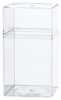Clear Plastic Boxes with Lids -- 55390 - Image