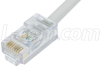 Cat. 5E EIA568 Plenum Patch Cable, RJ45 / RJ45, 10.0 ft -- TRD855PL-10