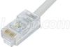 Cat. 5E EIA568 Plenum Patch Cable, RJ45 / RJ45, 1.0 ft -- TRD855PL-1