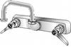 """S-03 Series, 8"""""""" O.C. Faucet, 8"""""""" spout (CH) -- S-03 - Image"""
