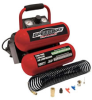 Speedway 2-Gallon Twin Stack Portable Air Compressor -- Model 8465