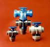 Series TMBV 3-Way Manual Ball Valve -- TMBV075VT-CP-A