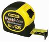 Stanley 33-726 Fatmax Tape Measure 8M/26ftX 1-1/4