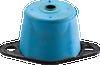 Neoprene/Elastomeric Floor Mounted Non-Seismic Isolator -- RDC2-Restrained-Double-Deflection-Isolators -Image