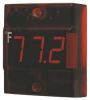 Panel Mount Thermometer,LED,-40 to 120F -- 5DJG8