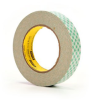 3M 410M Double Coated Paper Tape Off-White 1 in x 36 yd Roll -- 410M 1IN X 36YDS
