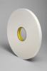 3M 4462 White Foam Mounting Tape - 3/4 in Width x 72 yd Length - 1/32 in Thick - 24312 -- 021200-24312 -- View Larger Image