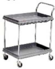 Utility Cart,2Shelf,33x28x18,Gry -- BC1627-24G