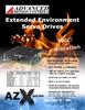 Analog Input Trapezoidal Brushless Servo Amplifier -- MODEL AZXBE25A8