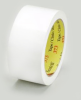 3M Scotch 373 Box Sealing Tape White 48 mm x 50 m Roll -- 373 48MM X 50M WHITE -Image