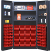 """Heavy-Duty All-Welded Storage Cabinets - 36"""" Wide - QSC-64-2S-6DS - Image"""