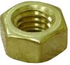 Hex Full Nuts - Brass - Metric - DIN934 -- Hex Full Nuts - Brass - Metric - DIN934