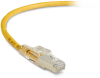 10FT Yellow CAT6 250MHz Patch Cable F/UTP CM Locking Snagless -- C6PC70S-YL-10 - Image