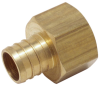 Lead Free CrimpRing™ Threaded Adapters - Crimp x Female -- LFWP13B -Image