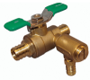 Full Port Brass Ball Valve -- 34-BVECXLC-125CF -Image