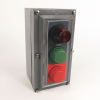 30mm Push Button Station 800H PB -- 800H-2HAR4R -- View Larger Image
