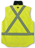 GloWear® 8378X Class 2 X-Back Thermal Vest;3XL Lime -- 720476-24217