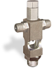 """(Formerly B1629-2X01), Cross Small Sight Feed Valve, 1/8"""" Male NPT Inlet, 1/8"""" Male NPT Outlet, Tamperproof -- B1628-222B1TW -Image"""
