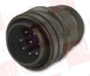 AMPHENOL 97-3106A-20-7P ( CIRCULAR CONNECTOR PLUG, SIZE 20, 8 POSITION, CABLE; PRODUCT RANGE:97 SERIES; CIRCULAR CONNECTOR SHELL STYLE:STRAIGHT PLUG; NO. OF CONTACTS:8CONTACTS; CIRCULAR CONTACT TYP... -Image