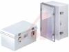 Enclosure; ABS/PC Blended Plastic; Polyurethane Gasket; Light Gray; NEMA1,2,4,4X -- 70148552