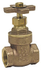 Brass Cross-Handle Gate Valve -- WGV-X - Image