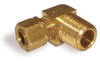 "Elbow Compression Fitting for Hydracision®, 1/4"" OD Tube Connection, 1/4"" Male NPT -- A4173-43 - Image"