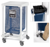 RELIUS SOLUTIONS Step-On Mobile Hampers -- 3265718