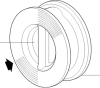 Austenitic Stainless Steel Split Disc Check Valve -- SDCV8 - Image