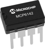 Operational Amplifier -- MCP6142 - Image
