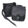 SaddleBag Laptop Carrying Case, 14-1/4 x 6-1/2 x 16-1/2, Bla -- K64079D