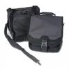 SaddleBag Laptop Carrying Case, 14-1/4 x 6-1/2 x 16-1/2, Bla -- K64079D