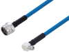 Plenum N Male to SMA Male Right Angle Low PIM Cable 48 Inch Length Using SPP-250-LLPL Coax Using Times Microwave Parts -- PE3C6212-48 -- View Larger Image