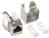 Cat.6 RJ45 110 Type Shielded Keystone Jack -- 1017-SF-04 - Image