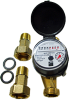 CLXC-C1 Series Single Jet Totalizing Water Meter -- CLXC-C1-15D - Image