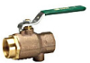 Lead Free* 2-Piece, Full Port, Ball Valve -- LFB6080, LFB6081