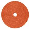 3M 787C Coated Ceramic Fiber Disc - 36+ Grit - 4 1/2 in Diameter - 7/8 in Center Hole - 89627 -- 076308-89627 - Image