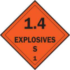 Placard,Vehicle,10.75X10.75,Explosives -- 6N888