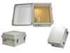 14x12x7 Inch 48VDC PoE Powered Weatherproof & Insulated Enclosure with Heating System -- NB141207-4H0N -Image