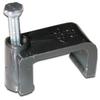 RG6 Dual Cable Clip, 100pcs, Black -- 72-962