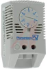 Thermostat; Standard; 120/250 VAC; 15/10 A; 2 Pole; Normally Open; Wire; 30 deg -- 70165412