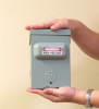 Stealth invisible IR Electrical box Recorder, 3yr standby