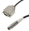 APT Stepper Motor Drive Converter Cable - Male D-Type to Female LEMO Connectors -- PAA620 - Image