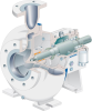 Chemical End Suction Single Stage Centrifugal Pumps -- CPT - Image