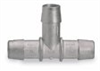 Barbed Tee Connector, Stainless Steel, 3/8