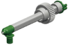 Sulzer Mixpac MixCoat™ EAMFQ 08-24C-10 Spray Tip HF Green 8.7 mm OD x 24 Element -- EAMFQ 08-24C-10 -Image
