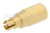 0.25 Watt RF Load Up to 18 GHz with Mini SMP Female Push-On Gold Plated Beryllium Copper -- PE6184 -Image